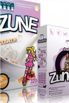 Sugestão de Utilização Disp. Dosador - Patente Exclusiva Zune
