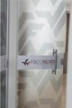 Adesivagem nas portas, janelas e divisórias - Fisconerte - Ibaiti PR