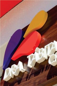Letras Caixa em PVC - Lablis Laboratório de Análises Clínicas - Pinhalão PR