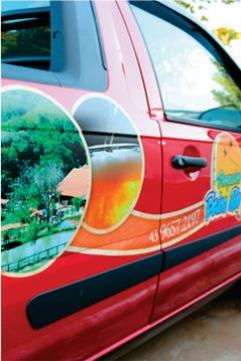 Envelopamento Camionete - Pesqueiro Beira Rio - Jaboti PR