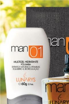Perfumaria Man 01 - Lunarys Cosméticos - Ijuí RS